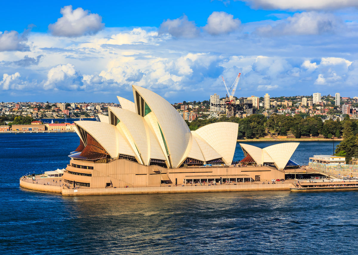Sydney Opera House Side angle 1200x856 - Download Image Of The Sydney Opera House  Background