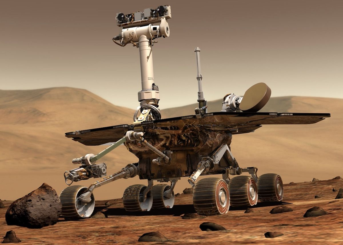 Opportunity Rover Dies On Mars Sends Sad Final Message