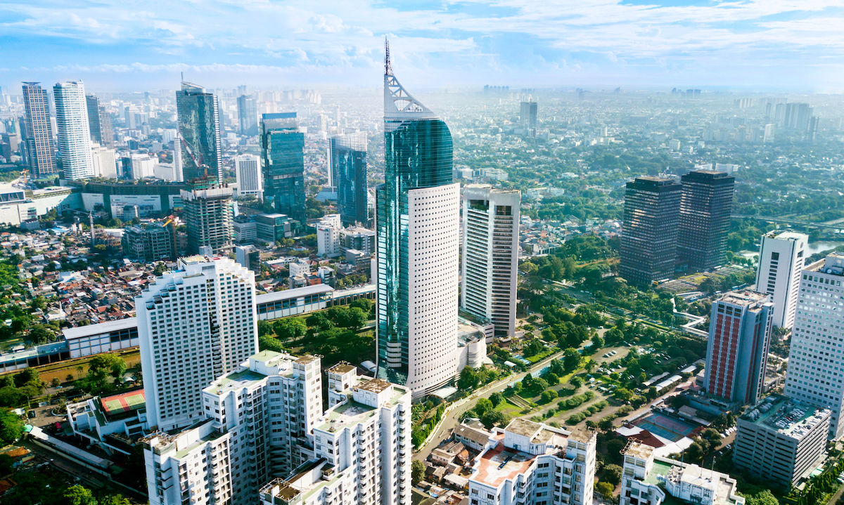 Indonesia moving its capital city from Jakarta