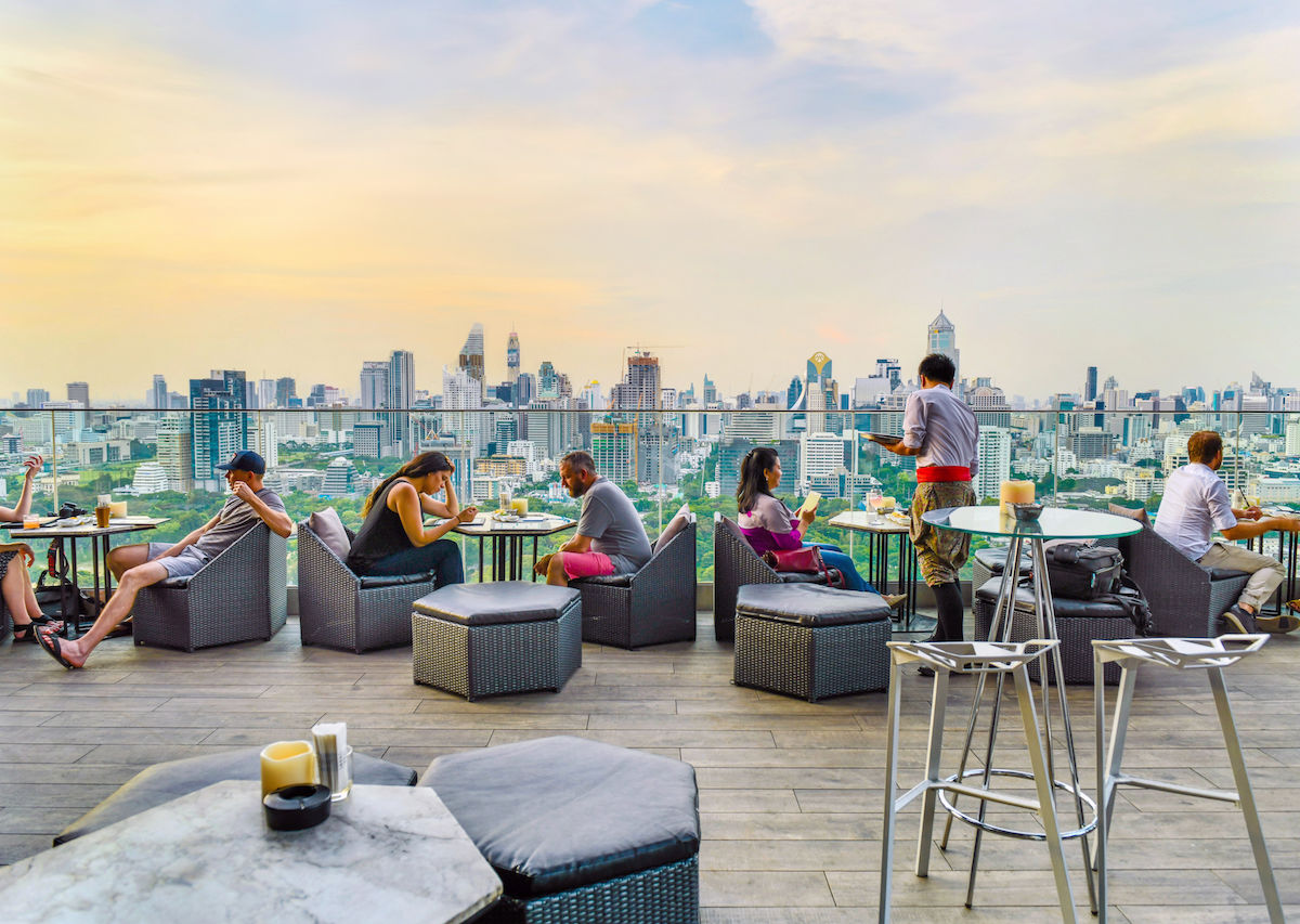 The best rooftop bars in Bangkok, Thailand