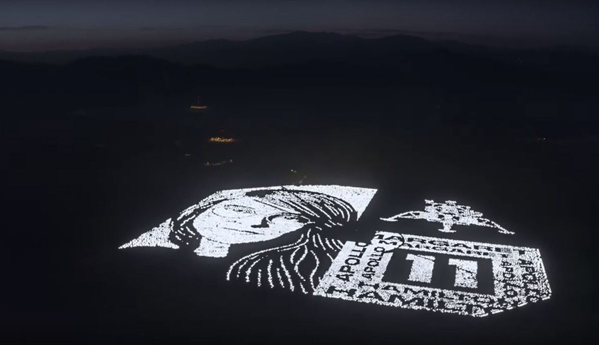 Mojave Desert Installation Tribute To Apollo Engineer By