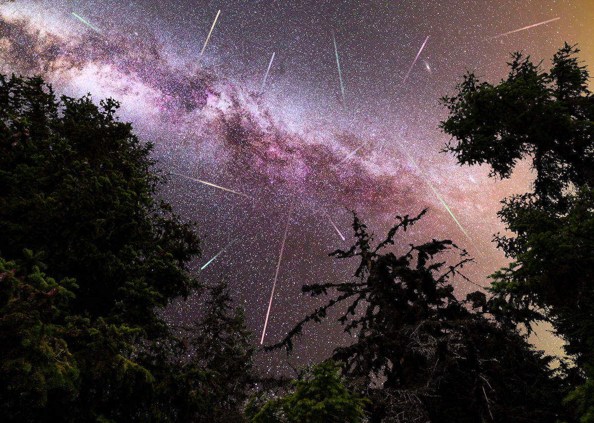 The most dramatic meteor shower of the year is happening tonight