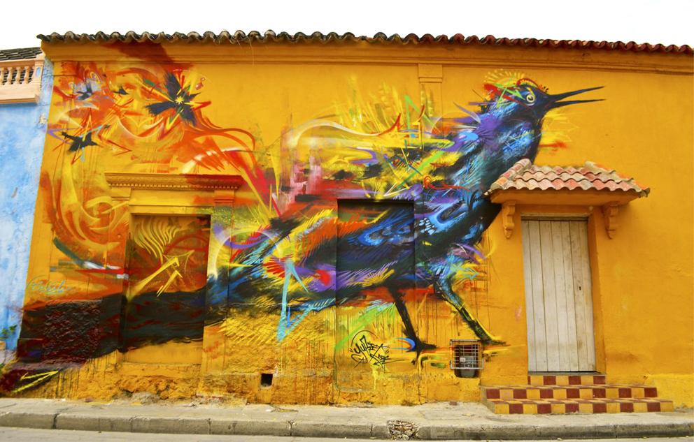 Lo mejor del arte urbano colombiano en 14 imágenes
