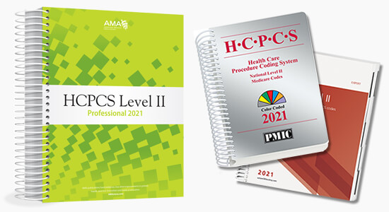 Up to 20% Off all 2021 HCPCS books