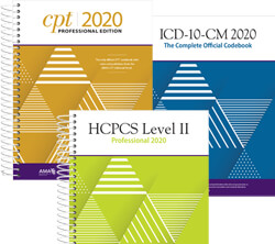2020 CPT, HCPCS, and ICD-10 Code Books | MedicalCodingBooks com