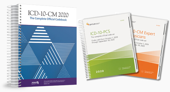 Up to 20% Off All 2020 ICD10 code books
