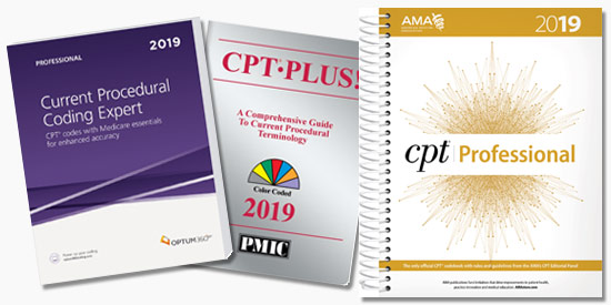 Up to 20% Off All 2019 CPT code books