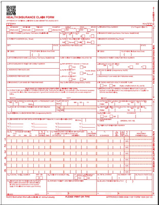Cms-1500 Health Insurance Claim Forms (Version 02/12): Medical