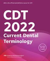 CDT 2022: Dental Procedure Codes