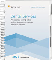 Coding and Payment Guide for Dental Services 2022