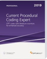 Current Procedural Coding Expert Professional Softbound 2019
