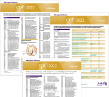 CPT 2022 Express Reference Coding Cards