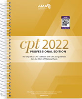 CPT Professional 2022 Edition Spiral