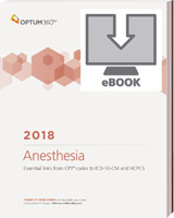 Anesthesia Cross Coder 2018 eBook