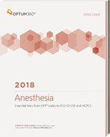 Anesthesia Cross Coder 2018