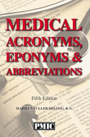 Medical Acronyms, Eponyms & Abbreviations 5th Edition