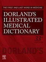 Dorland's Illustrated Medical Dictionary 33rd Edition