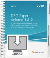DRG Expert 2019: Volumes 1 and 2 eBook