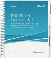 DRG Expert 2019: Volumes 1 and 2