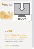 Coders' Desk Reference for Diagnoses (ICD-10-CM) 2018 eBook
