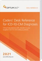 Coders' Desk Reference for ICD-10-CM Diagnoses 2021
