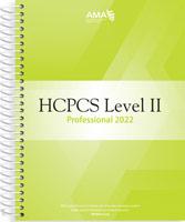HCPCS 2022 Level II