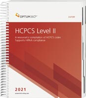 HCPCS Level II Expert 2021 Spiral