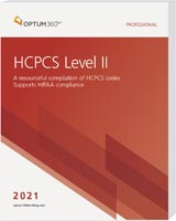 HCPCS Level II Professional 2021 Softbound
