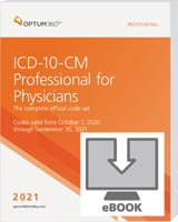 ICD-10-CM Professional for Physicians 2021 eBook