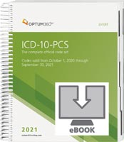 ICD-10-PCS Expert 2021 eBook