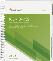 ICD-10-PCS Expert Spiral 2021