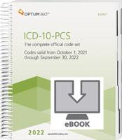 ICD-10-PCS Professional 2022 eBook