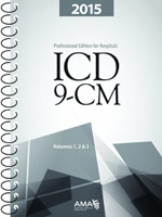 ICD-9-CM Hospital 2015 Volumes 1, 2 and 3 Full-Size