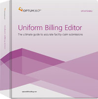 Uniform Billing Editor Binder