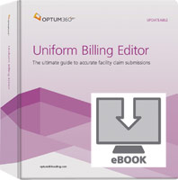 Uniform Billing Editor eBook