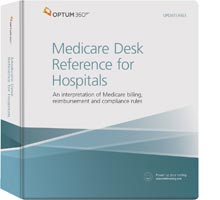Medicare Desk Reference for Hospitals Binder