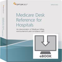 Medicare Desk Reference for Hospitals eBook