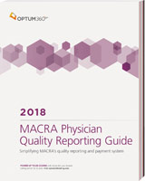 MACRA Physician Quality Reporting Guide 2018