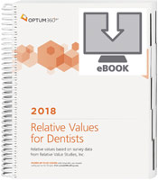 Relative Values for Dentists 2018 eBook