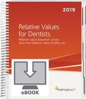 Relative Values for Dentists 2019 eBook