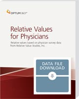 Relative Values for Physicians Data File 2021