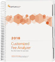 Customized Fee Analyzer One Specialty 2018