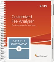 Customized Fee Analyzer One Specialty 2019 Data File