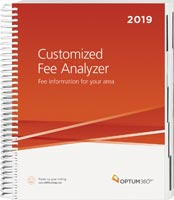 Customized Fee Analyzer One Specialty 2019