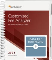 Customized Fee Analyzer One Specialty 2021 Data File