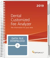Dental Customized Fee Analyzer 2019 Data File
