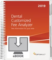 Dental Customized Fee Analyzer 2019 eBook