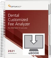 Dental Customized Fee Analyzer 2021 eBook