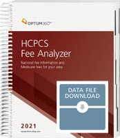 HCPCS Fee Analyzer 2021 Data File