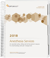 Coding and Payment Guide for Anesthesia Services 2018